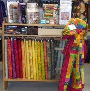 Bright batiks